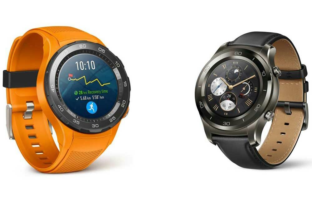 Huawei smartwatch with bezel