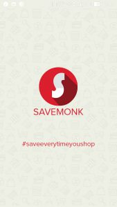 Savemonk cashback app
