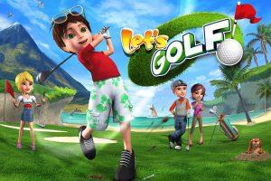 lets of golf 2 offline multiplayer game
