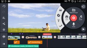 Kine master pro video editor