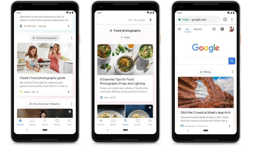 Google Feed is now Google Discover after rebranding-So what is it?