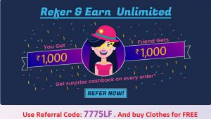Fynd app refer and earn