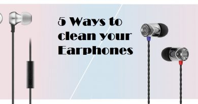 ways to clean earphones techholicz