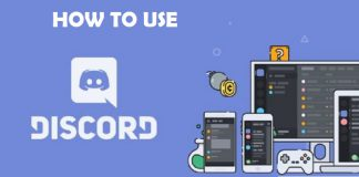 How to use discord app