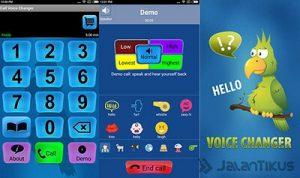 intcall Voice changer