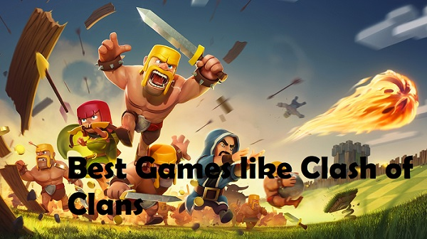 Games like Clash of Clans Coc