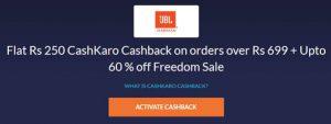 Cashkaro cashback