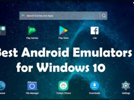 Best Android Emulator FOR WINDOWS 10 PC