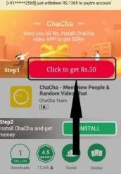 chacha App refer