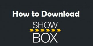 How to download showbox on PS4