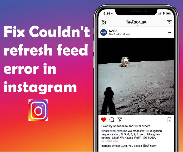 How To Fix Instagram Couldn T Refresh Feed Solution Techholicz