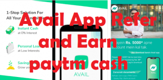 avail app refer and Earn