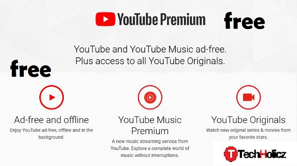 youtube premium free trick