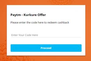 kurkure redeem code