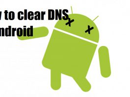 how to clear dns cache in android
