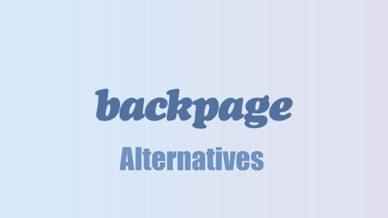 Down shut backpage alternative website Top 25