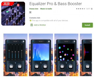 equalizer pro and bass boooster