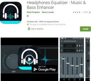 headphones equalizer