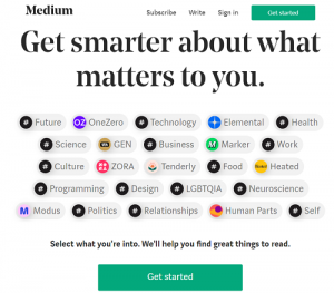 medium-tumblr alternatives